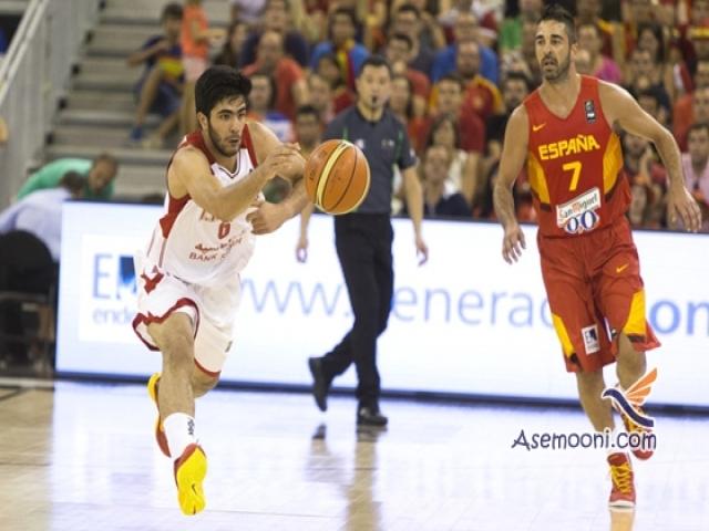برتری تیم بسکتبال برزیل در برابر ایران
