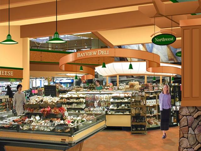 نحوه چیدمان و طراحی دکوراسیون سوپر مارکت