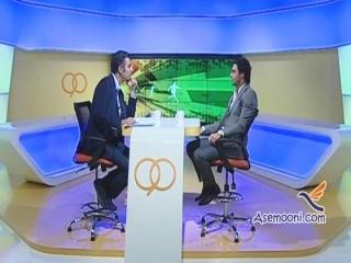 برنامه نود 28 مهر 1393 و گفتگو با فرهادی مجیدی