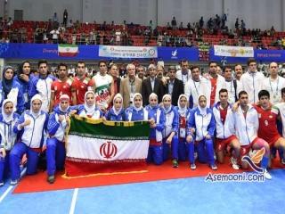 نتایج ورزشکاران ایران در روز چهاردهم بازی های آسیایی
