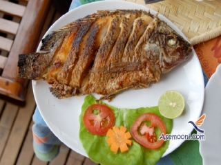 طرز پخت ماهی تیلاپیا