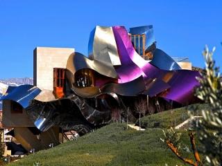 هتل عجیب مارکوس دو ریسکال در اسپانیا