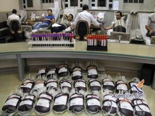 16 هزار اهدای خون در روز تاسوعا