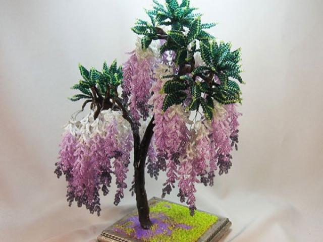 ساخت دستی درختچه های کریستالی
