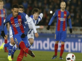 برد ارزشمند بارسلونا مقابل سوسیهداد / اخطارهای عجیب به مسی و نیمار