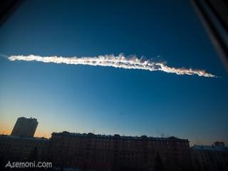 زخمی شدن بیش از 900 نفر در روسیه بر اثر « شهاب سنگ»