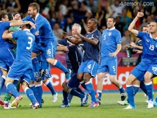 نتیجه بازی ایتالیا و انگلیس
