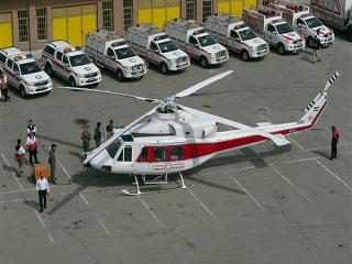 درخواست مجوز بالگرد امدادی در تهران