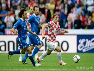 توقف غیر منتظره ایتالیا مقابل کرواسی