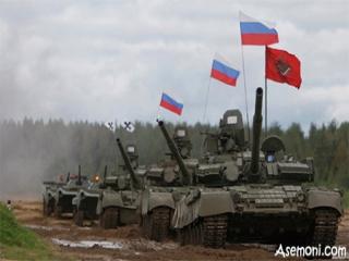 روسیه برای آغاز جنگ آماده شد