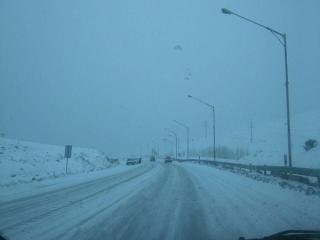 بارش برف و باران و ترافیک نیمه سنگین در جادههای کشور