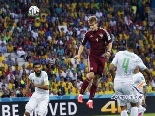 الجزایر 1 روسیه 1 - گزارش بازی جام جهانی