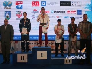 رقابت های کشتی آزاد قهرمانی جوانان جهان - کرواسی