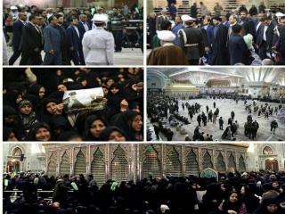 حاشیه های مراسم تشییع آیت الله هاشمی رفسنجانی