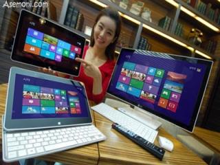 معرفی لپ تاپ هیبریدی و کامپیوتر چند منظوره برای ویندوز 8