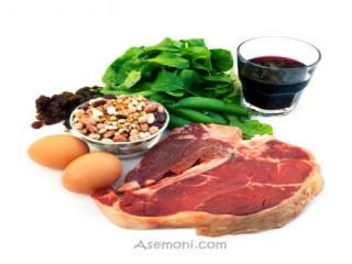 تغذیه در کم خونی ناشی از فقر آهن