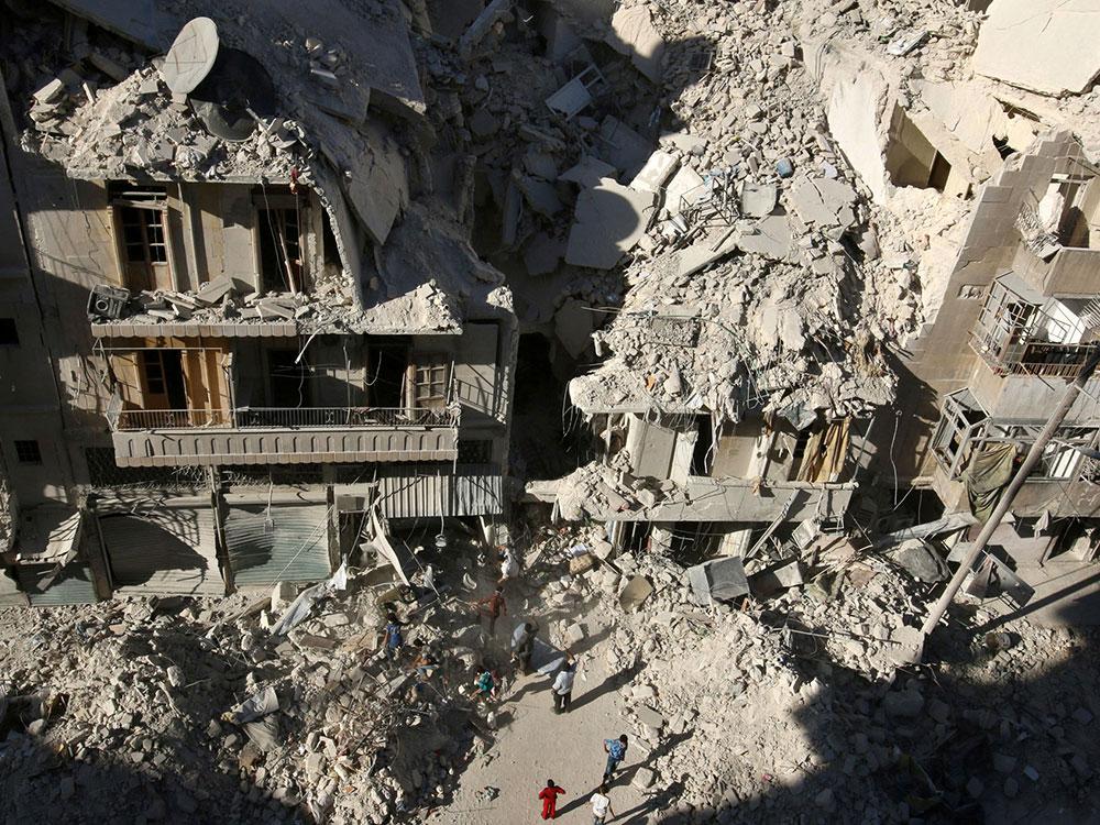 alleppo-rubble
