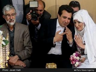 عکس های مراسم عقد محمدرضا حسینی بای