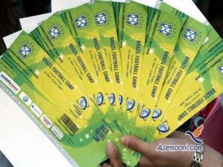 بلیط های جام جهانی 2014 به سرقت رفت