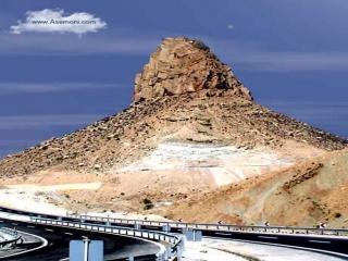 کوه باستانی عجیب پردیس در ایران ، نقطه زمین به خورشید