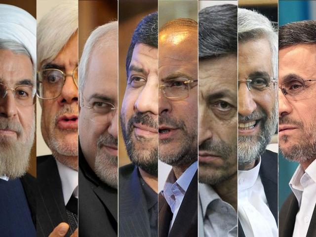 نامزدهای احتمالی ریاست جمهوری 96 ایران