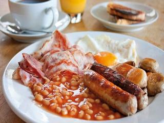 طرز تهیه صبحانه انگلیسی