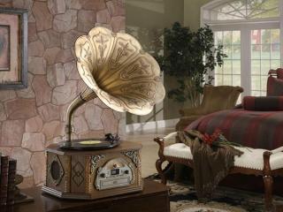 گرامافون ، دستگاه پخش موسیقی قدیمی