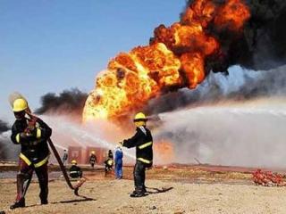 دو کشته در انفجار گاز خط لوله گاز