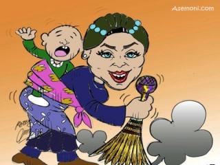 کاریکاتور روز زن و کاریکاتور روز مادر