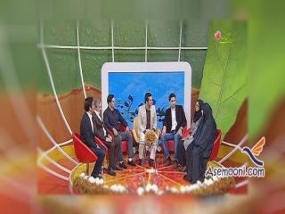 فرزاد حسنی در تلویزیون ، رونمایی فرزاد حسنی از تازه عروس خانواده