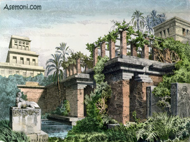 معرفی باغ های معلق بابل