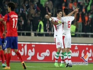 پیروزی ایران در مقابل کره جنوبی