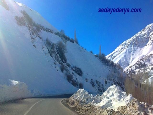 عکس برف شدید در گیلان و مازندران