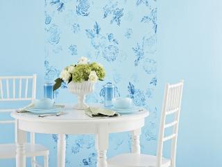 کاغذ دیواری، رنگ و بلکا 3 انتخاب برای دیوار