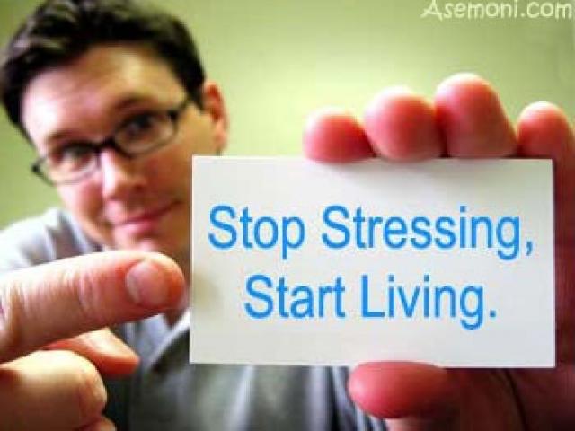 استرس را ناک اوت کنیم!!!