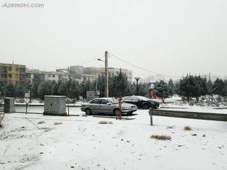 سال 2014 میلادی با برف در تهران آغاز شد