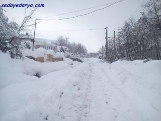 یادی از برف شدید در مازندران
