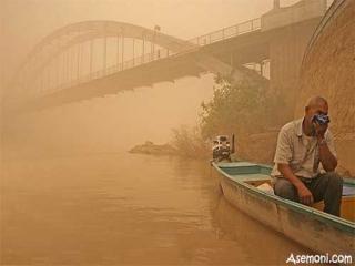 علت نهایی آلودگی هوای اهواز و مسمومیت مردم