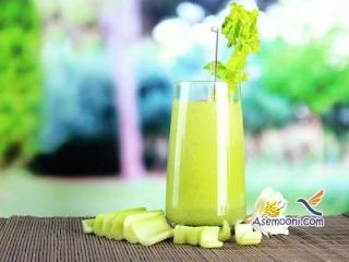 طرز تهیه آب کرفس با لیمو