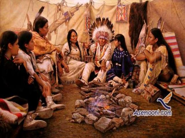آداب و رسوم و زندگی سرخپوستان