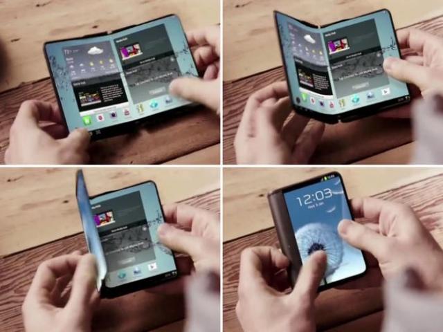 گوشی هوشمند تاشو سامسونگ سال 2018 عرضه می شود
