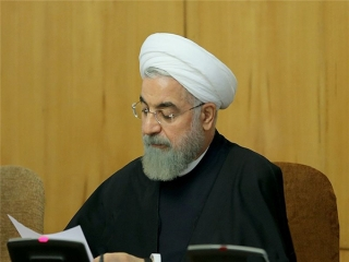 پیام تسلیت رییس جمهور روحانی به مناسبت شهادت مرزبانان میرجاوه