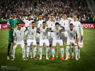 تثبیت جایگاه فوتبال ایران در رده 28 جهان و اول آسیا