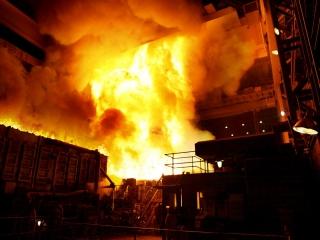 انفجار در کوره ذوب آهن یاسوج؛ 9نفر سوختند