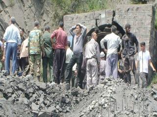 انفجار در معدن زغال سنگ استان گلستان/ احتمال محبوس شدن 80 کارگر