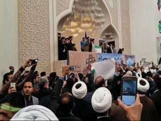 ورود حجت الاسلام رییسی به گرگان
