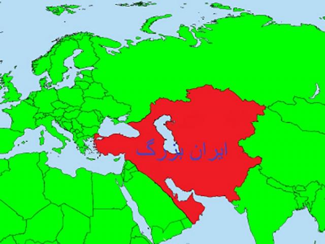ایران بزرگ در طول تاریخ + نقشه (فلات ایران)