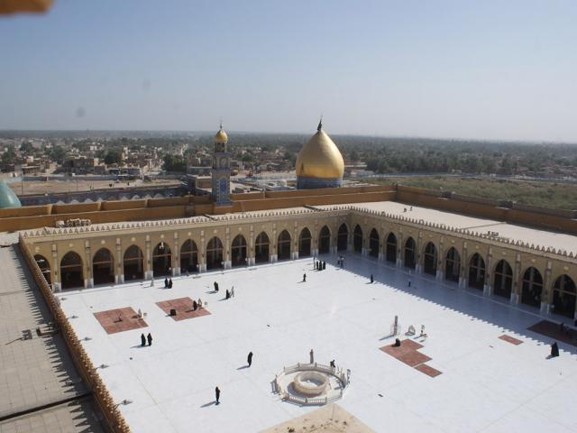 مسجد کوفه، سازه حضرت آدم