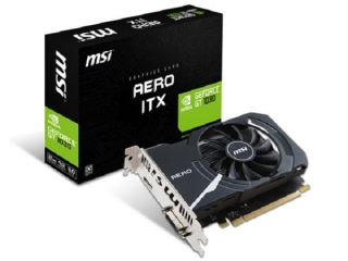 کارت گرافیک GeForce GT 1030 AERO ITX 2G OC ام اس آی معرفی شد