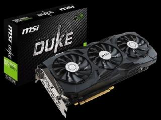 کارت گرافیک GeForce GTX 1080 Ti DUKE ام اس آی معرفی شد